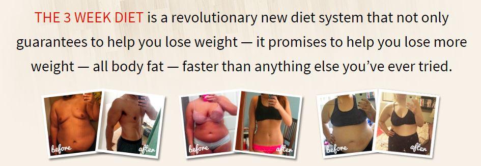 3 week diet free