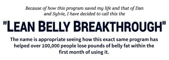 Lean Belly Breakthrough