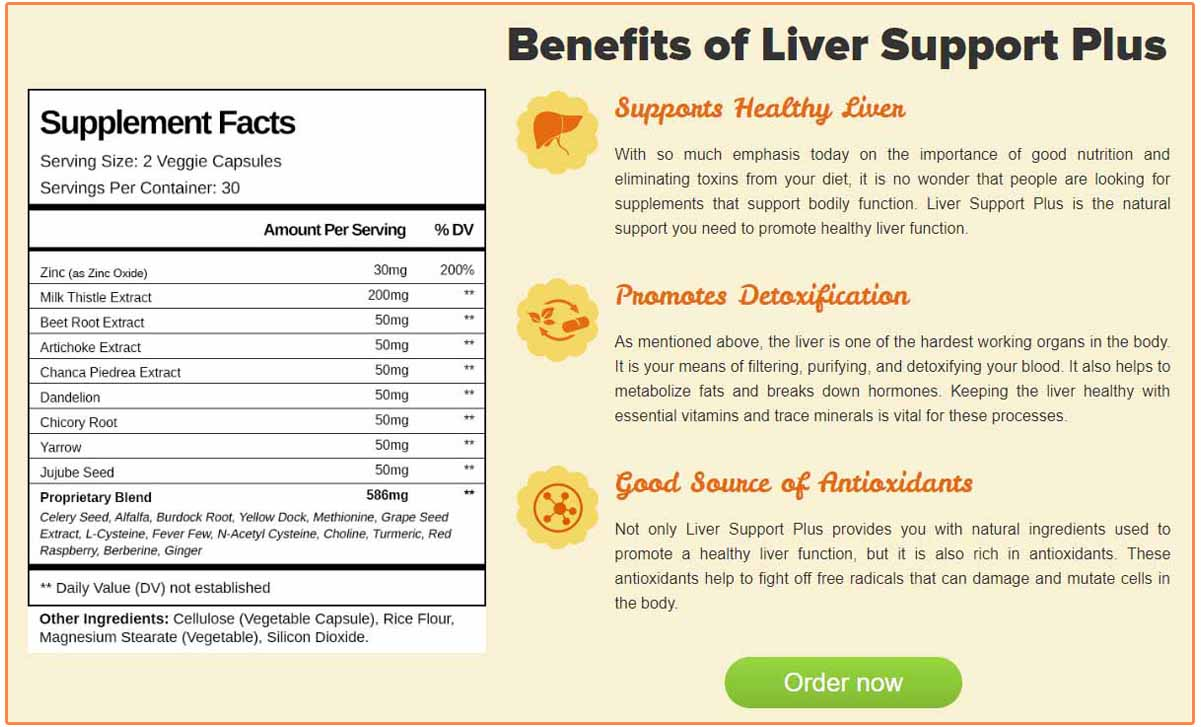 Benefits Of Liver Support Plus