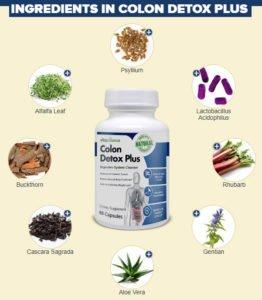Colon Detox Plus Ingredients