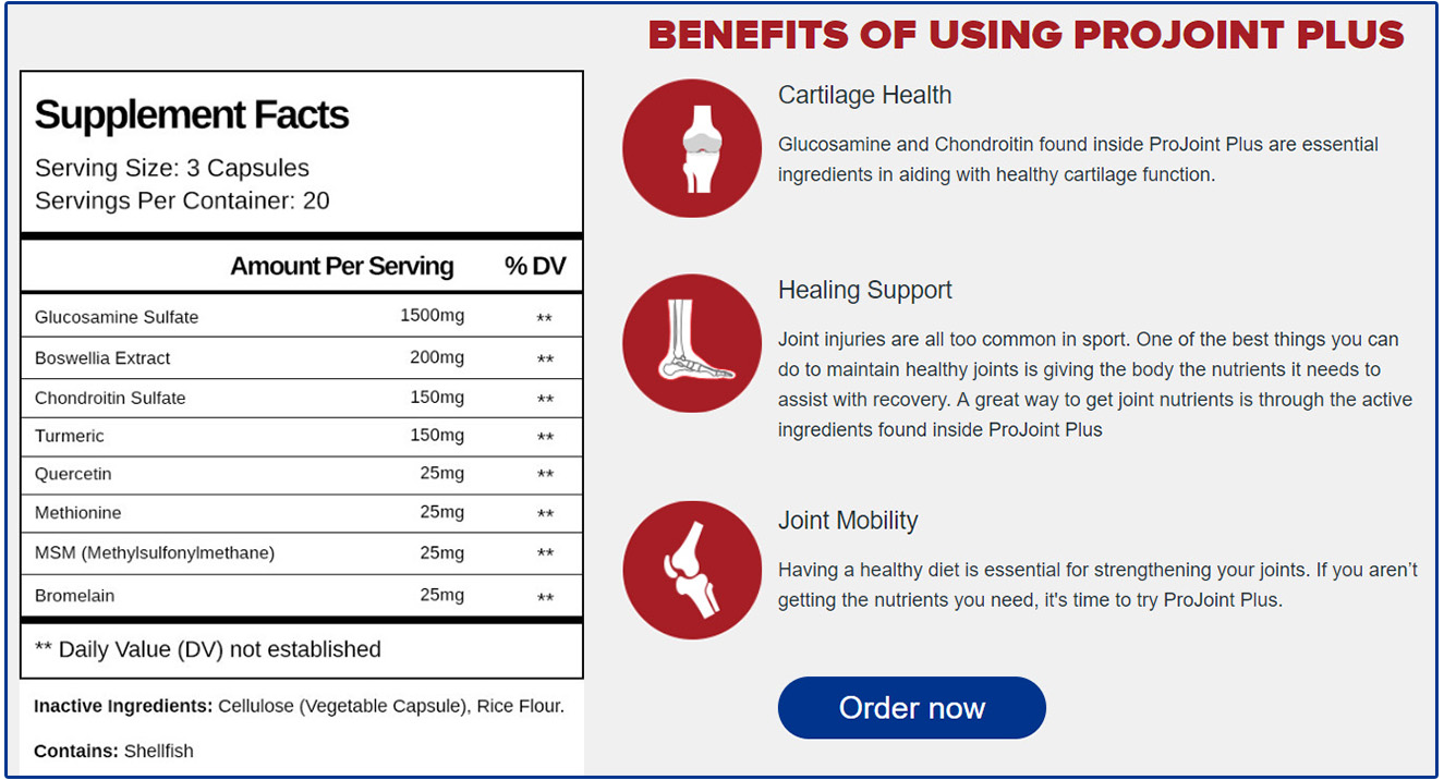 Supplements of Projoint Plus