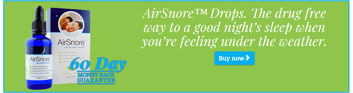 AirSnore anti-snoring system