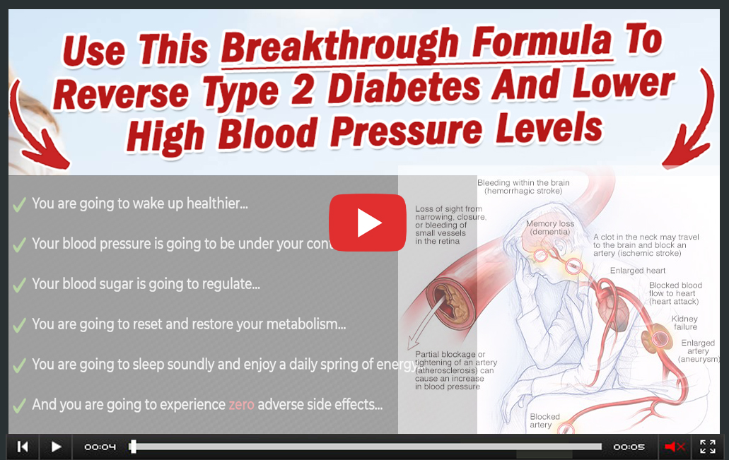 Blood Balance Formula Video