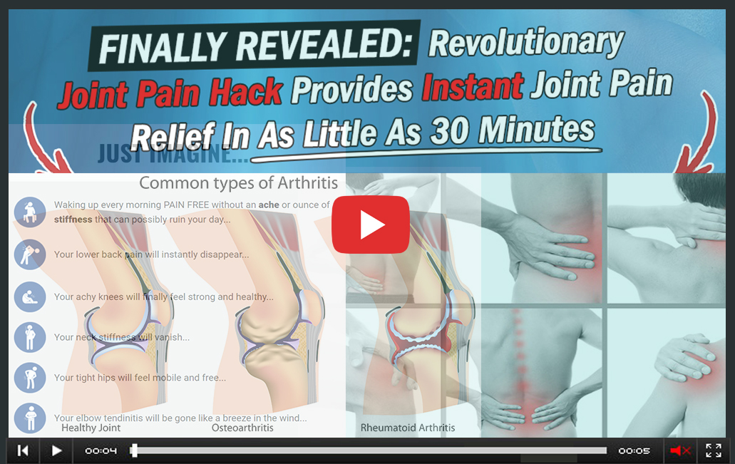 Nutrition hacks joint pain hack video