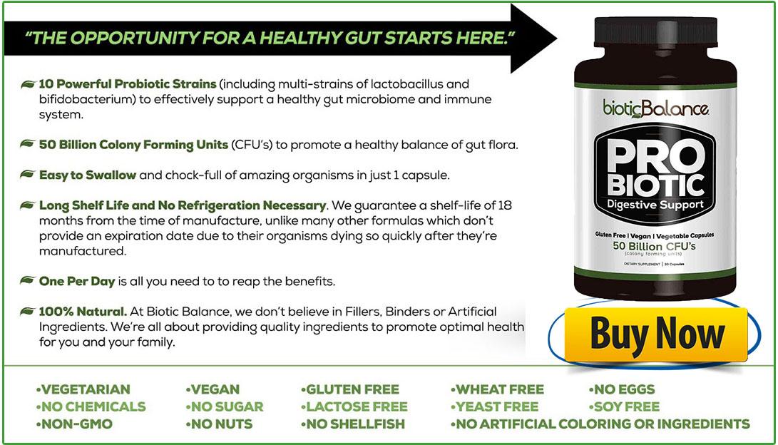Biotic Balance Probiotics