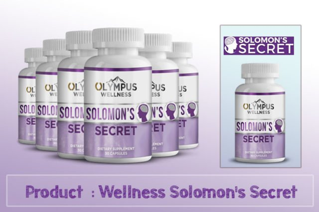 Wellness Solomon's Secret Review