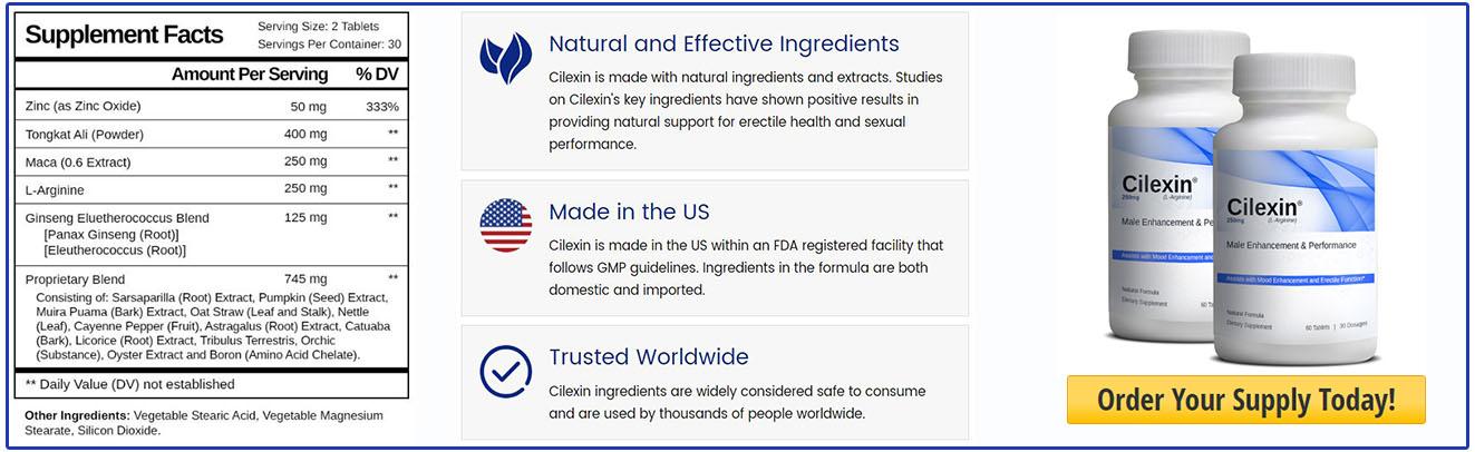 Ingredients OfCilexin