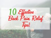 Effective Back Pain Relief Tips