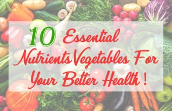Essential Nutrients Vegetables
