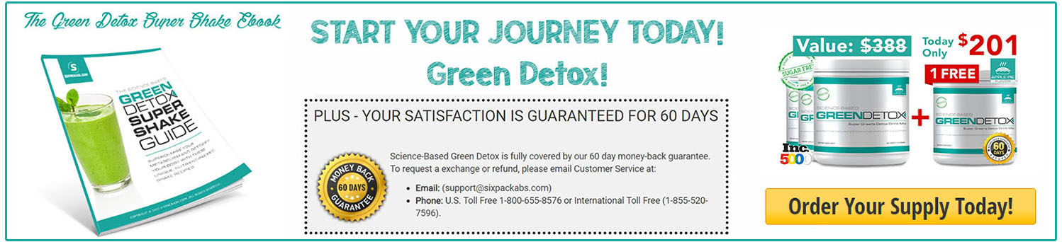 Science-Based Green Detox