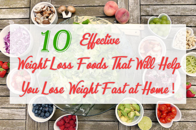 Weight Loss Foods