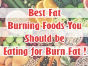10 Best Fat Burning Foods