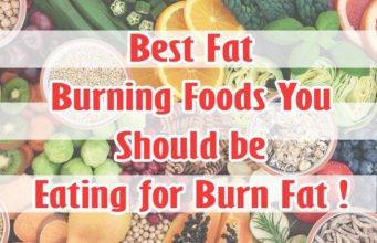 10 Best Fat Burning Foods