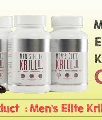 Mens Elite Krill Oil