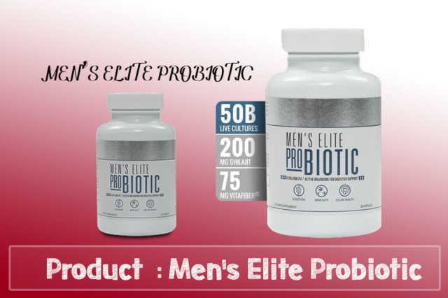 Mens Elite Probiotic Review