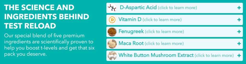 Test Reload Ingredients