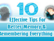 Tips For Better Memory