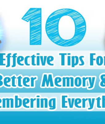 Tips For Better Memory