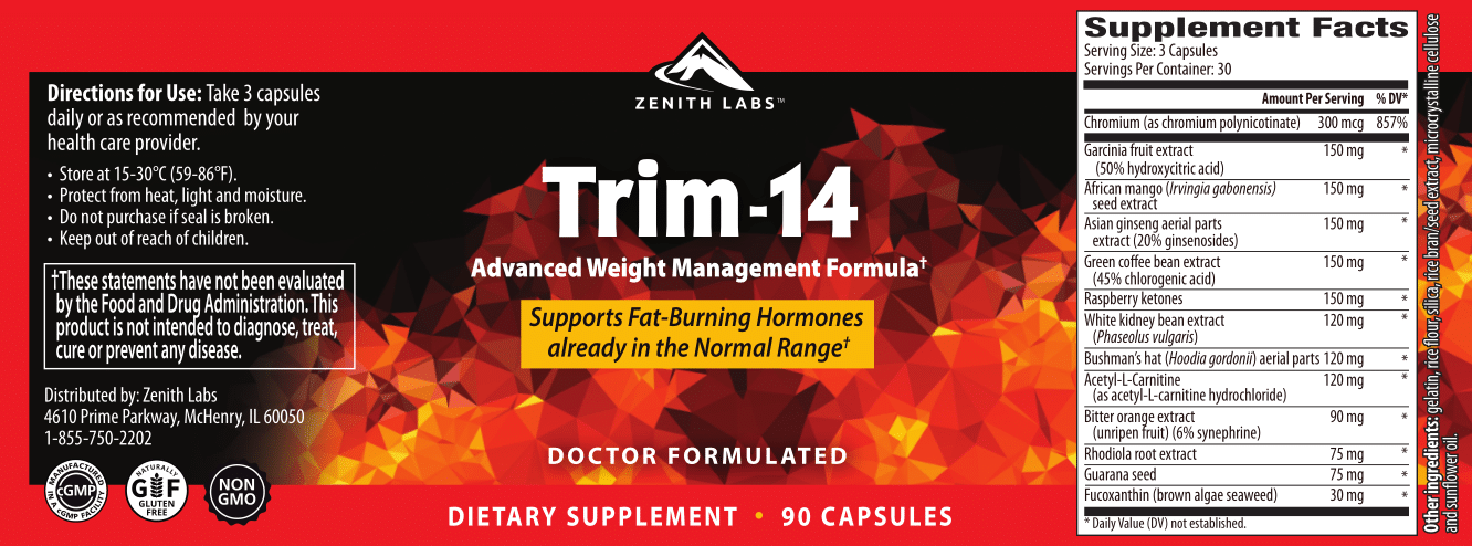 Trim 14 supplement