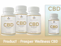Prosper wellness CBD