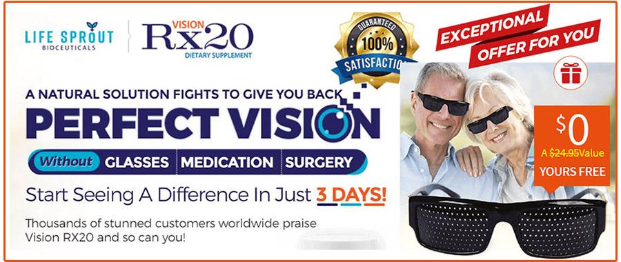 Vision Rx20 Offer