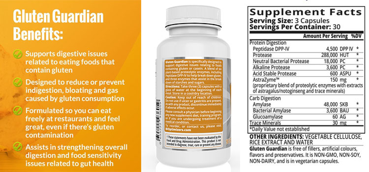 Gluten Guardian Supplement
