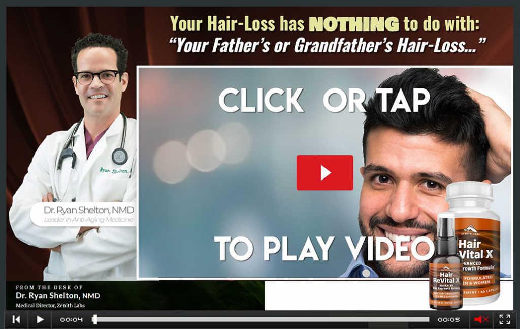 Hair Revital X scam