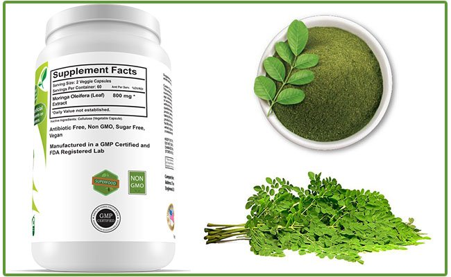 Miracle Moringa ingredients