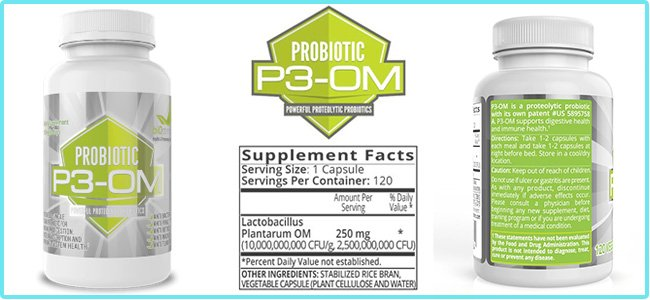 P3-OM Probiotics Ingredients