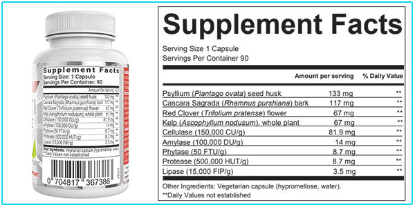Consti Cleanse supplement