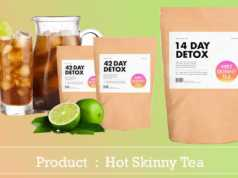 Hot Skinny Tea review