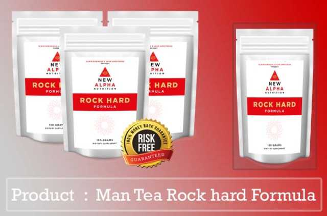 Man Tea Rock hard Formula review
