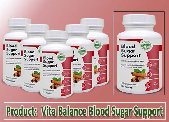 Vita Balance Blood Sugar Support Review
