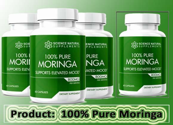 100% Pure Moringa review