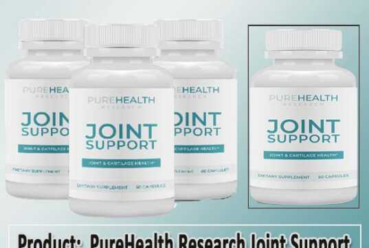 PureHealth Research Joint Support Review