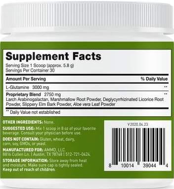 Leaky Gut Revive Ingredients
