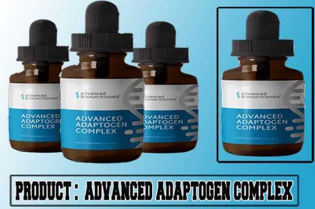 Advanced Adaptogen Complex Review