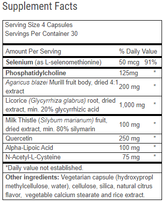 Advanced Liver Support Ingredients