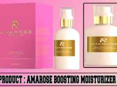 Amarose Boosting Moisturizer Review