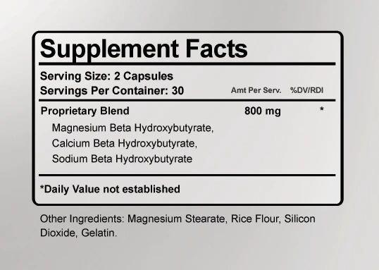 Keto-T911 Ingredients