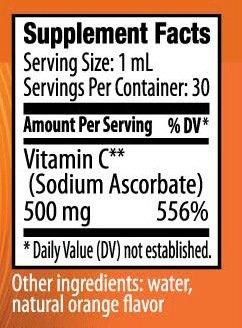 Nano C Ingredients