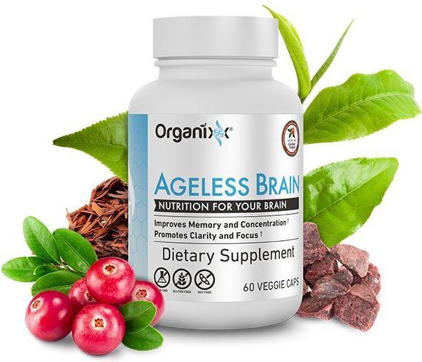 Organixx Ageless Brain Ingredients