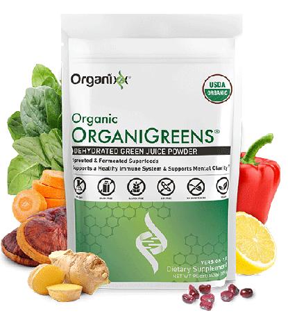 Organixx organigreens Ingredients