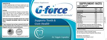 G force ingredients
