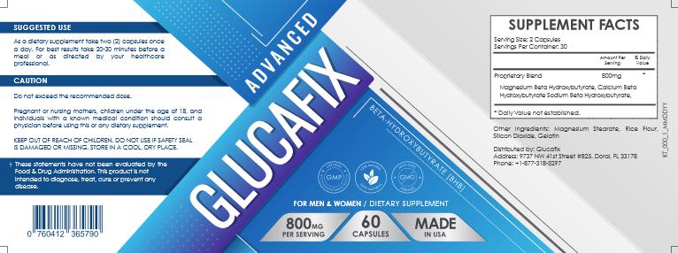 GlucaFix ingredients