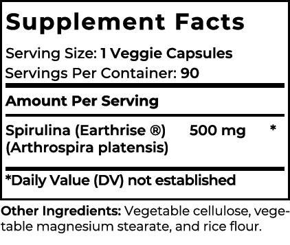 Up N Go Energy ingredients