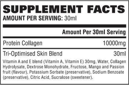 YouTonics Skin ingredients