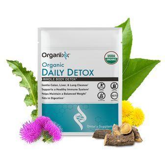 Organic Daily Detox Ingredients