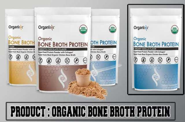 Organixx Organic Bone Broth Protein Review