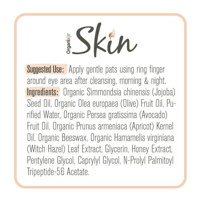 Renew Eye Cream Supplement Facts